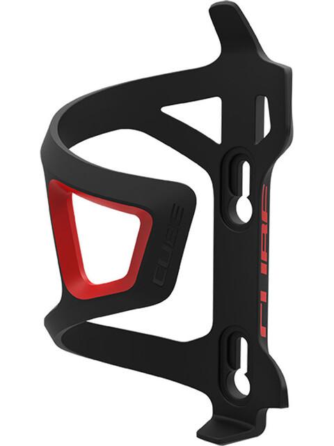 Cube HPP-Sidecage Flaskhållare röd/svart